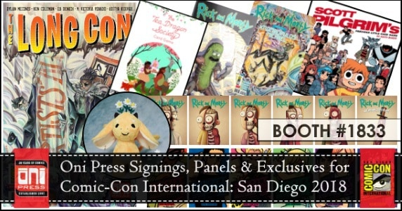 [SDCC 2018] Oni Press Announces Signings, Panels & Exclusives for Comic-Con International: San Diego 2018