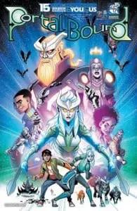 Portal Bound #5 - Cover A by Alex Arizmendi&Wes Hartman
