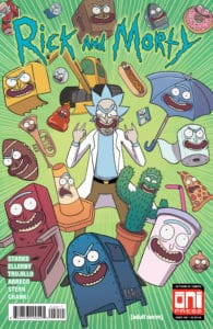 Rick & Morty #40 - Cover A byMarc Ellerby with Sarah Stern