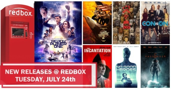 New to Redbox - 7/24/18: Preview & Trailers of This Week's New Releases