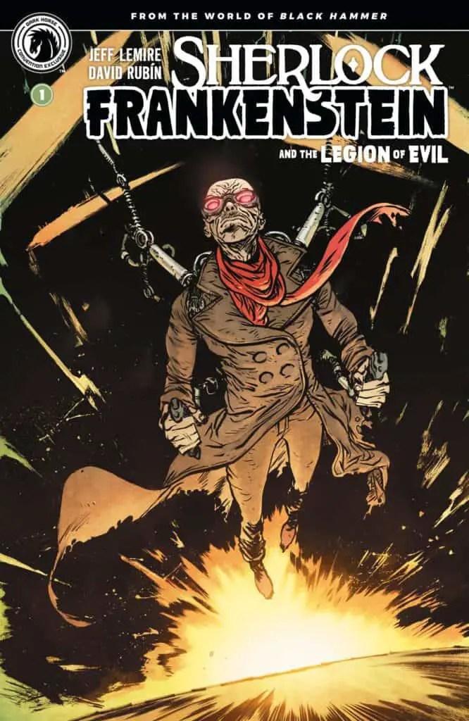 Sherlock Frankenstein & The Legion of Evil #1 Convention Exclusive (Daniel Warren Johnson)