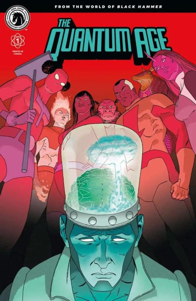 The Quantum Age #1 Convention Exclusive (Marcos Martín)