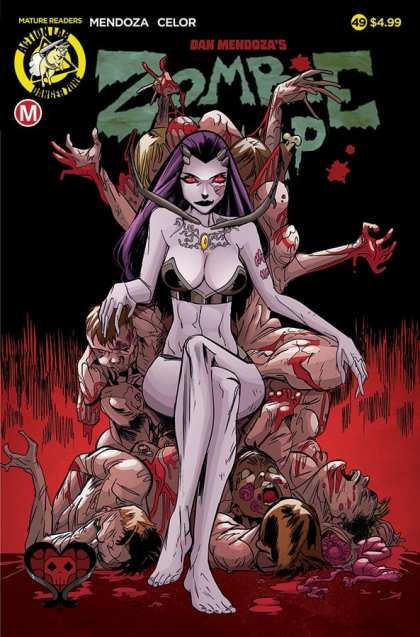 Zombie Tramp #49 - Cover A by Celor