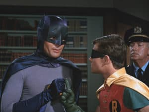 Adam West as Batman -Photo by Shed On The Moon, Public Domain