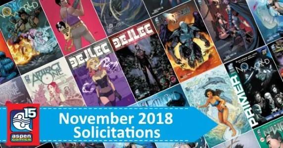 Aspen Comics November