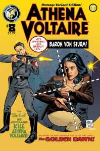 Athena Voltaire Ongoing #8 Cover B