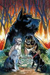 Beasts of Burden: Wise Dogs and Eldritch Men #1 Main Cover by Benjamin Dewey