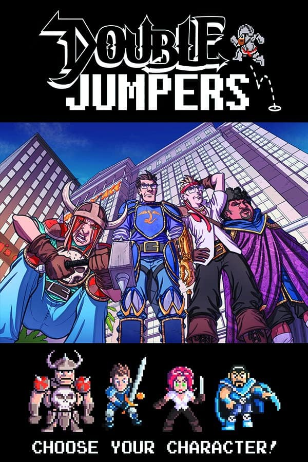 Double Jumpers Vol. 1 TPB cover