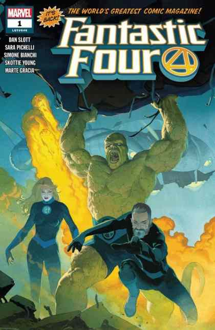 Fantastic Four #1 - Main Cover by Esad Ribic