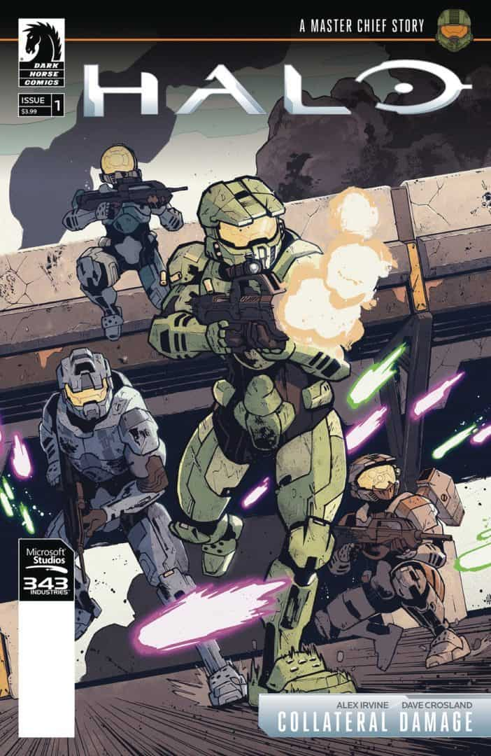 Halo Collateral Damage #3 cover