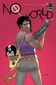 NO WORLD Vol. 2 #1 - Cover B by Jordan Gunderson