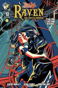 Raven Year 2 #13 Cover