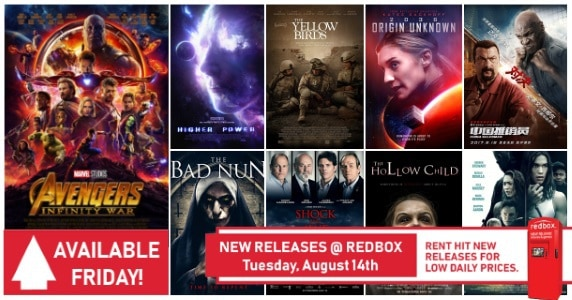 [Movie News] New to Redbox - 8/14/18: Preview & Trailers of This Week's New Releases
