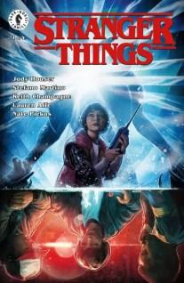 Stranger Things #1 - Main Cover by Aleksi Briclot
