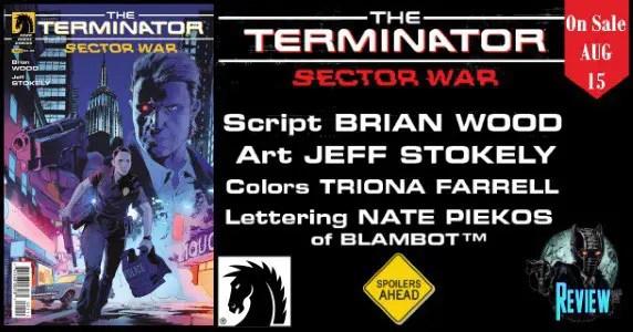 Terminator Sector War #1 review feature