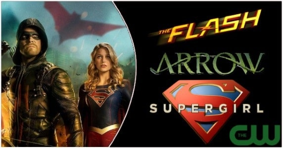 tv news the cw announces dates for dc show crossover superman to