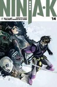 NINJA-K #14 - Ninja Programme Variant by Megan Hutchison