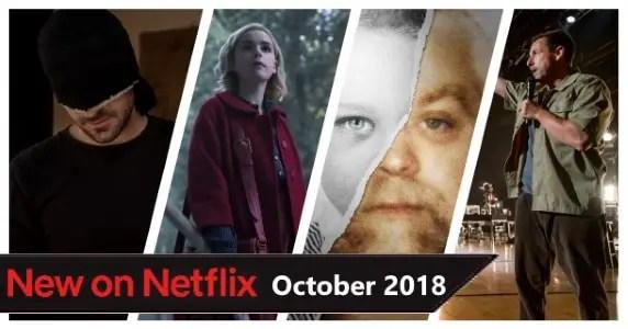 Netflix October 2018
