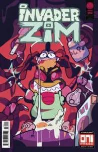 Invader ZIM #34 - Cover B