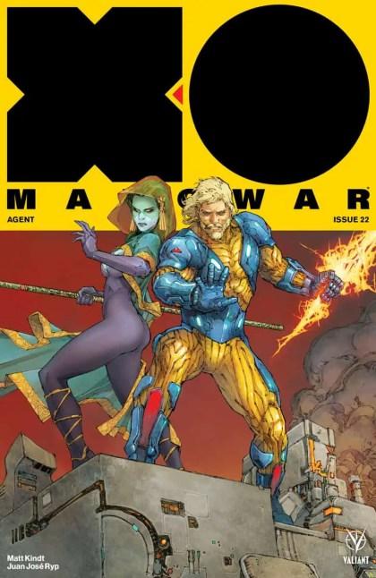 X-O MANOWAR (2017) #22 - Cover A by Kenneth Rocafort