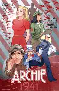Archie 1941 #2 - Variant Cover by Marguerite Sauvage