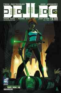 DELLEC (Vol. 2) #2 - Cover A by Gunnell