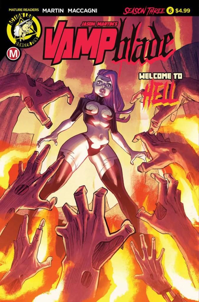 Vampblade Season 3 #6 - Cover A