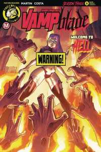 Vampblade Season 3 #6 - Cover B