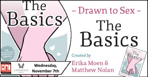 """[Preview] Limerence Press' 11/6 Release: DRAWN TO SEX: """"The Basics"""" ~ *NSFW*"""