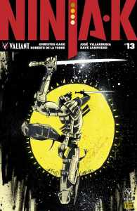 Ninja-K #13 - Pre-Order Edition Variant by Jim Mahfood