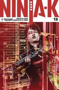 Ninja-K #13 - Variant Cover by Marc Laming