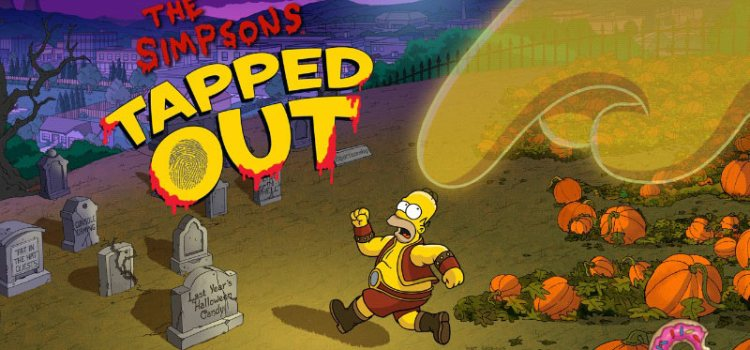 Simpsons Tapped Out Halloween 2013