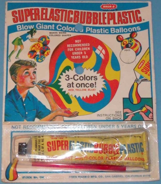 wamo super elastic bubble plastic
