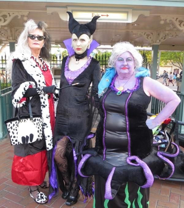 Three great villains.