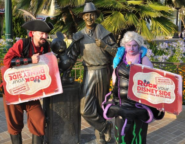 I honestly believe that Uncle Walt would have loved to see guests in costume having a good time.