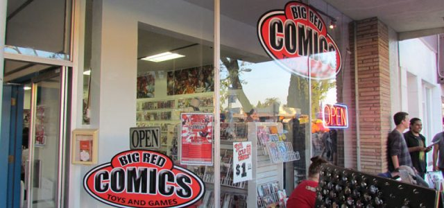 Big Red Comics Orange CA Grand Opening