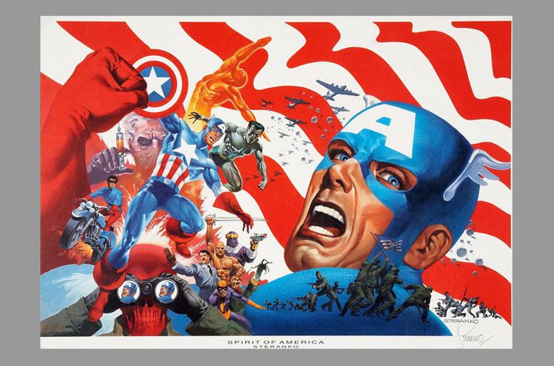 steranko-captain-america