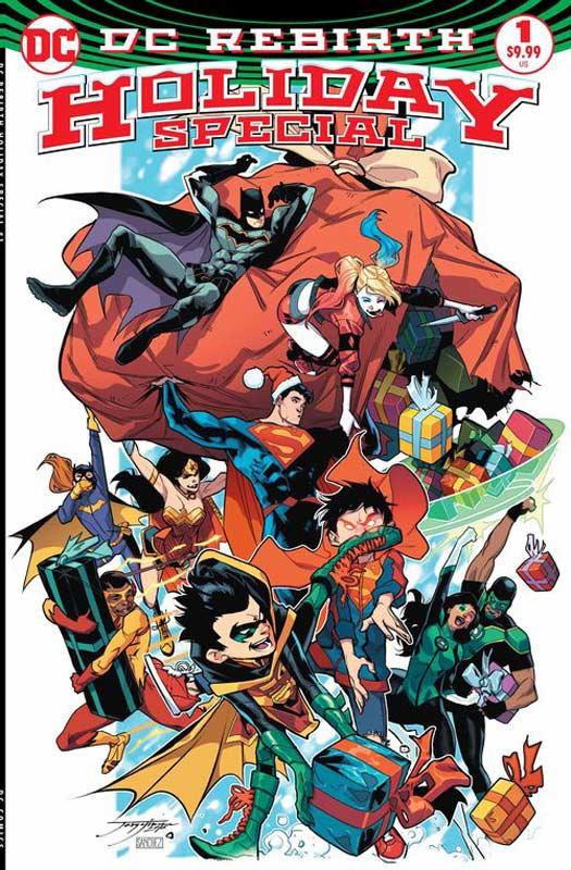 New Comic Book Reviews Week Of 12/14/16