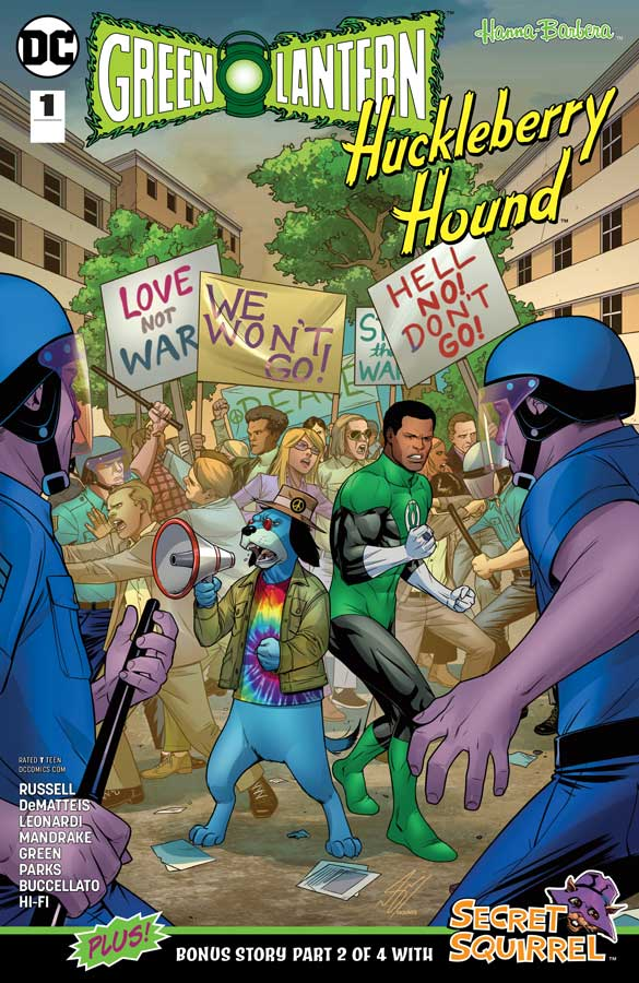 green-lantern_huckleberry-hound-#1