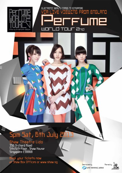 Perfume World Tour 2nd England Live Viewing Japan