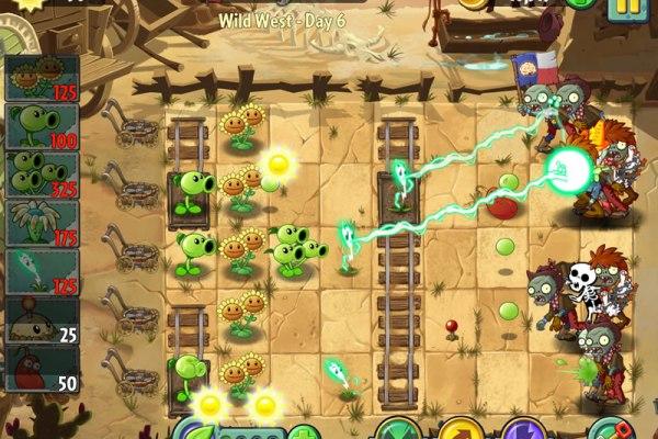 plants versus zombies 2 wild west screen shot
