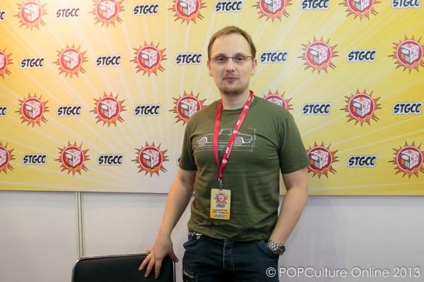 STGCC 2013 Interview with Adi Granov