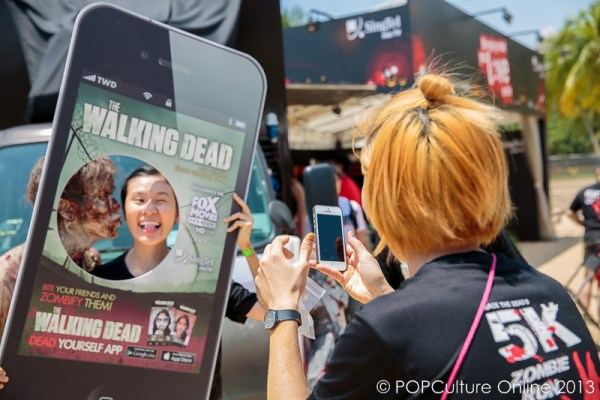 The Walking Dead Zombie Pop Up Cafe