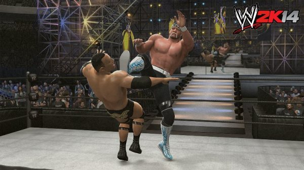 WWE2K14 Hogan_Vs_Rock