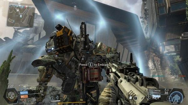 Titanfall Beta In Game Screen Shots