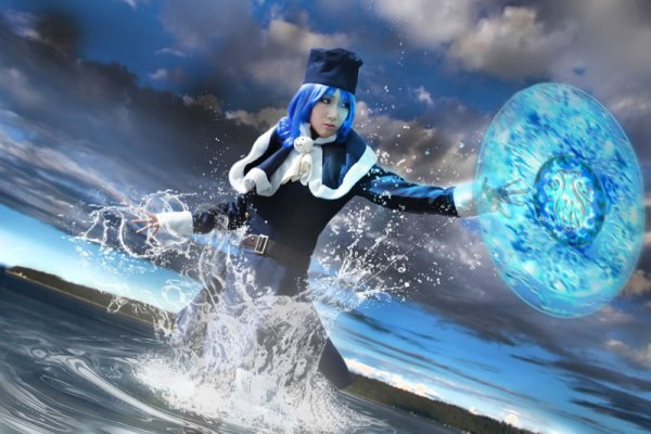Juvia Cosplay from Fairy Tails