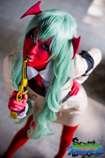 Scanty Daemon Cosplay from Panty and Stocking with Garterbelt