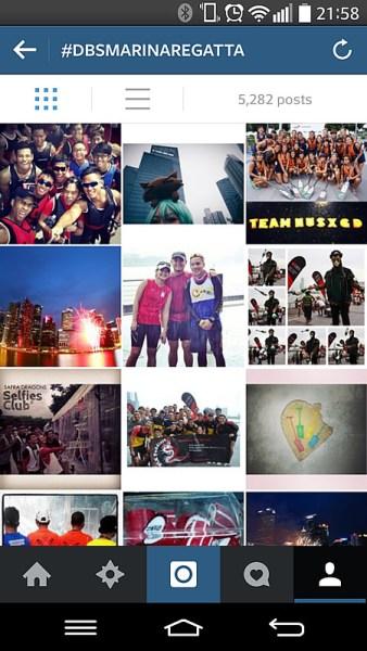 DBS Marina Regatta 2014 Selfie For Charity