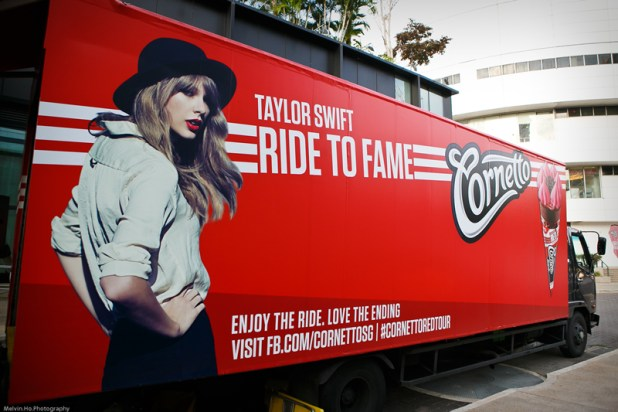 Cornetto Ride to Fame Roving Stage