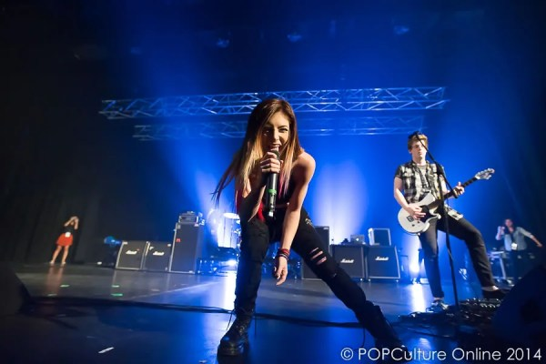 Alex Goot Against The Current Live In Singapore 2014 - Chrissy Costanza